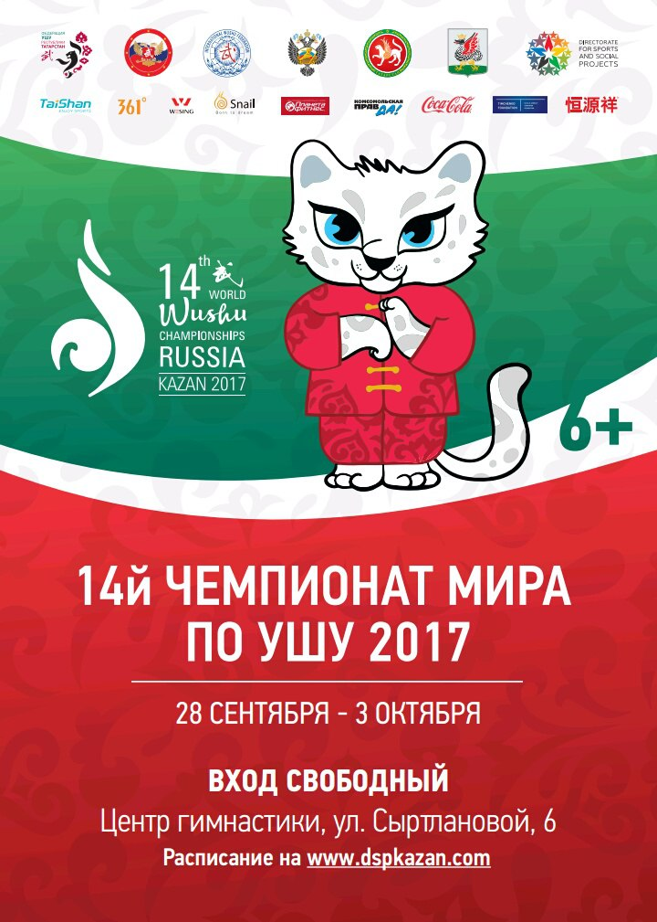 wushu world champ Kazan 2017